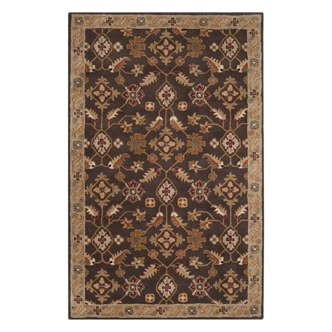 area rugs from lowes surya cae1083 caesar espresso area rug lowe s canada
