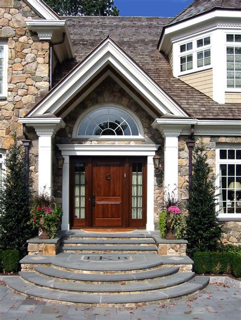 curved entry steps home design ideas pictures remodel