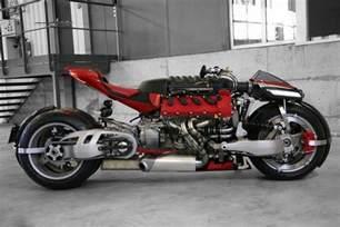 Maserati Bike Lazareth Lm847 A Motorcycle With A 470 Hp Maserati Engine