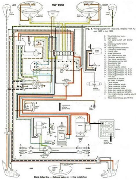 auto wiring diagram  vw beetle  wiring diagram