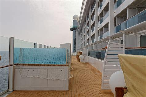 balkonkabine aida prima schiff aussendecks aidaprima kreuzfahrtschiff bilder