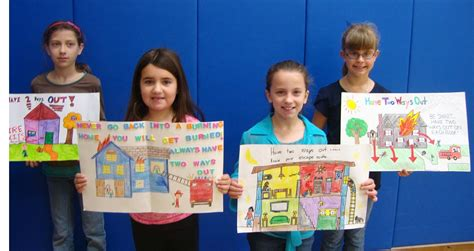 contest winners winners announced in woodbury s annual safety