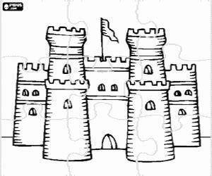 Coloriage Puzzles De Maisons Villes Et Monuments 224 Imprimer