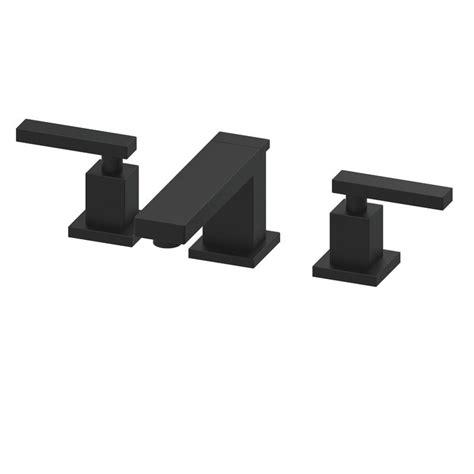 flat black bathroom faucets faucet 2560 56 in flat black by newport brass