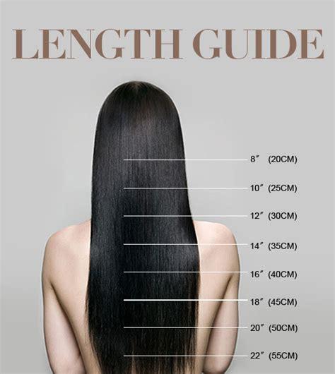 8 inch hair extensions hair length