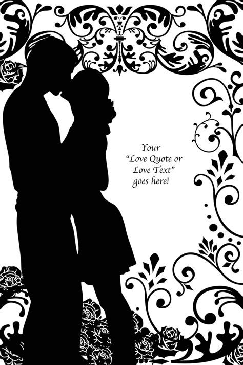 Art For Lovers   Lovers? Silhouette