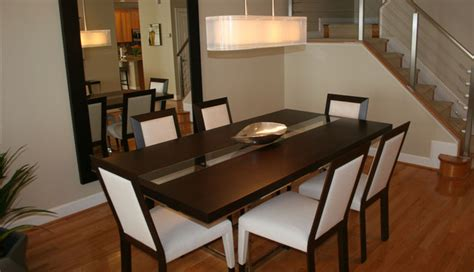 residential interior rockville md modern dining room