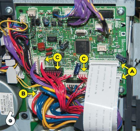 dc 6 swing hp laserjet 4200 4200 4250 4350 swing plate replacement