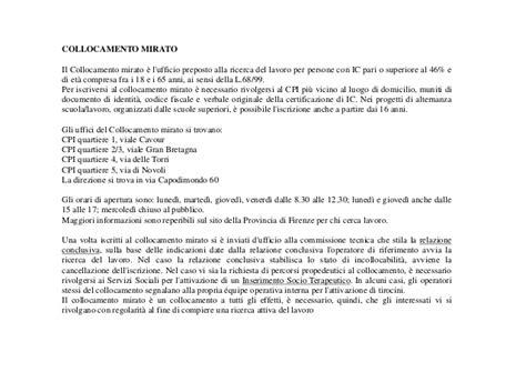 iscriversi ufficio collocamento progetto sportello unico disabilit 224 6 inserimento