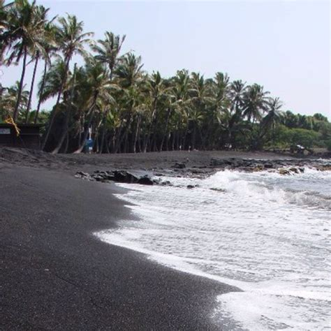 black sand island black sand beach big island hi oh the places we have