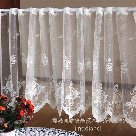 lace curtains cheap online get cheap crochet lace curtains aliexpress com
