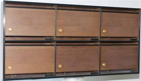 cassetta della posta in legno cassetta postale da interno acquista le cassette