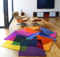 Colorful Modern Rugs Bright Area Rugs Add A Pop Of Color