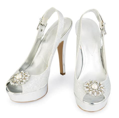 quinceanera shoes quincea 241 era classic princess silver glitter shoes with