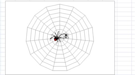 web diagram exle excel dashboard templates special spider web