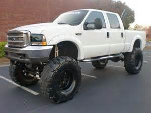 Big Truck Tires Nc Jacked Up Ford Superduty With Big Ol Knobby Tires