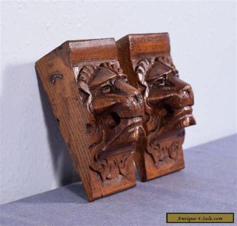 Oak Corbels For Sale 6 Quot Antique Renaissance Corbels Carved Oak Wood