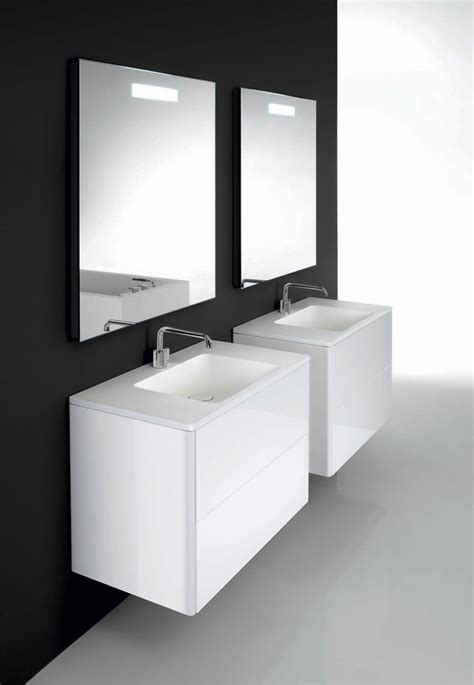 Furniture Bathroom Minimalist Functional Bathroom Furniture Flow And Soft From Cosmic Digsdigs