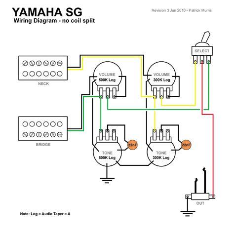 branchement micros hb yamaha sg 2000 zikinf