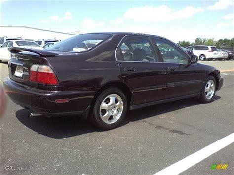 black currant metallic 1997 honda accord se sedan exterior