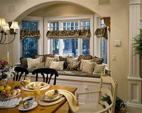 Dining Room Window Seat by Cozybetterdecoratingbible