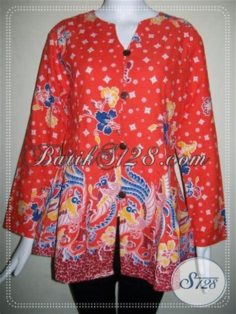 Baju Renang Panjang Untuk Wanita baju batik lengan panjang untuk wanita pegawai bls725p s toko batik 2018