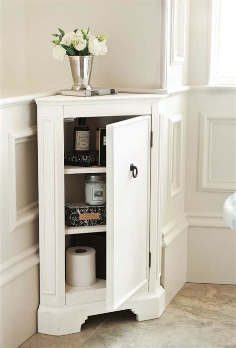 Corner Cabinet For Bathroom Space Efficient Corner Bathroom Cabinet For Your Small Lavatory Ideas 4 Homes