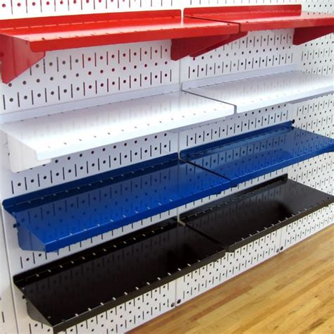 peg board shelves wall asm sh 1606 b pegboard shelf assembly for wall pegboard only 6