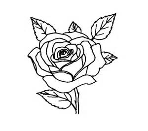 the two very beautiful rose flower coloring page for kids