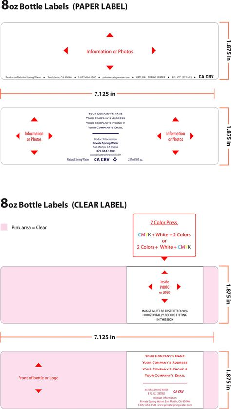 1 label template water bottle label template 1 for free tidyform
