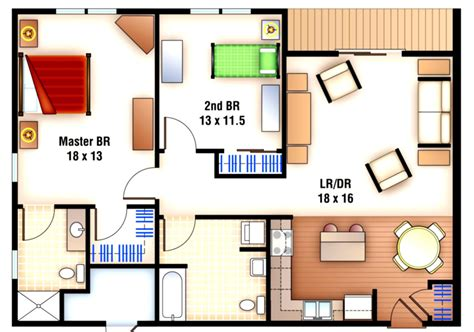 Studio Pool House Floor Plans Viewing Gallery 2 Bedroom | studio pool house floor plans viewing gallery 2 bedroom