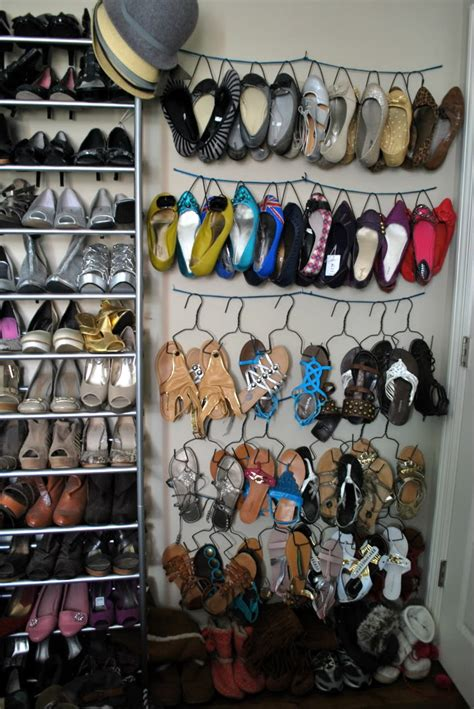 Shoe Closet Hanger by 25 Diy Shoe Rack Keep Your Shoe Collection Neat And Tidy