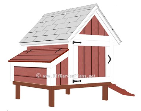 Easy To Follow Chicken Coop Plans Easy Plans For Building A Chicken Coop