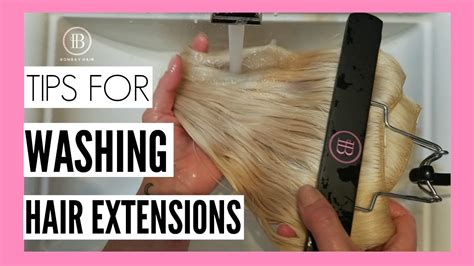 9 Tips On Washing Your Hair by Tips For Washing Your Bombay Hair Extensions