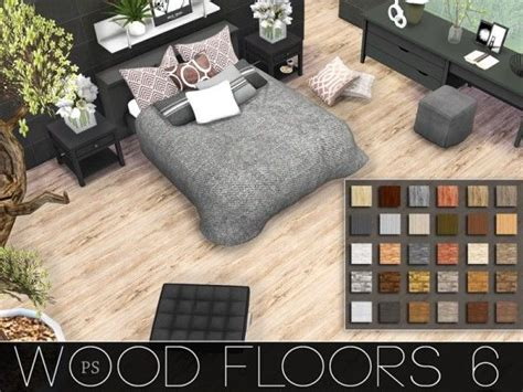 the sims 4 flooring set the sims resource wood floors 6 by pralinesims sims 4