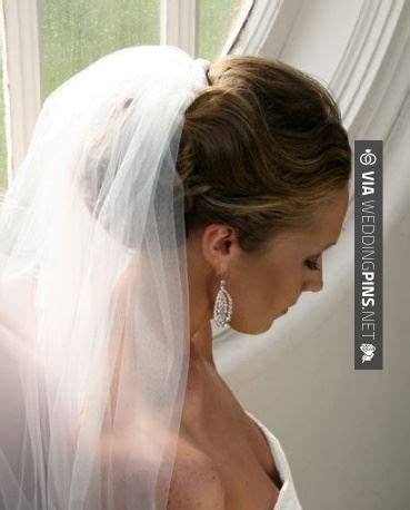 Wedding Updo With Veil Above by 35 Best Wedding Hair With Veil Images On