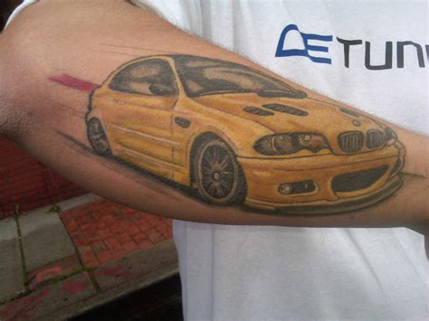 m3 tattoo e92 m3 new sticker