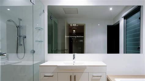 smart mirror bathroom s 233 ura introduces smart mirrors at cedia 2017