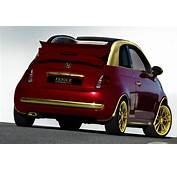 Fenice Gold Fiat 500C Presented  Autoevolution