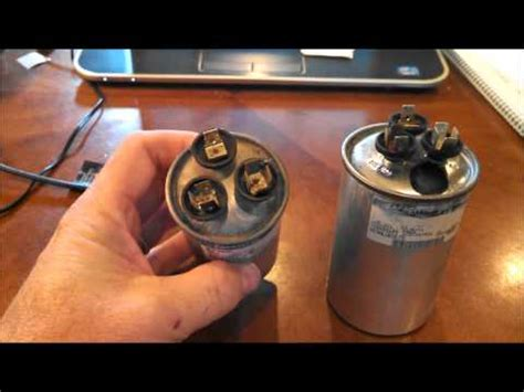 ac capacitor diagnosis bad capacitor symptoms images