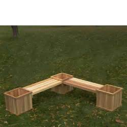 cedar bench planter plans pdf woodworking