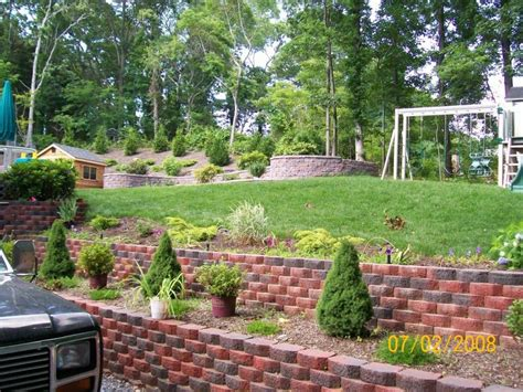 Small Terraced Garden Ideas Lawn Garden Terraced Garden Beds For Raised Vegetable Garden Bed Plus Exposed Brick Floor
