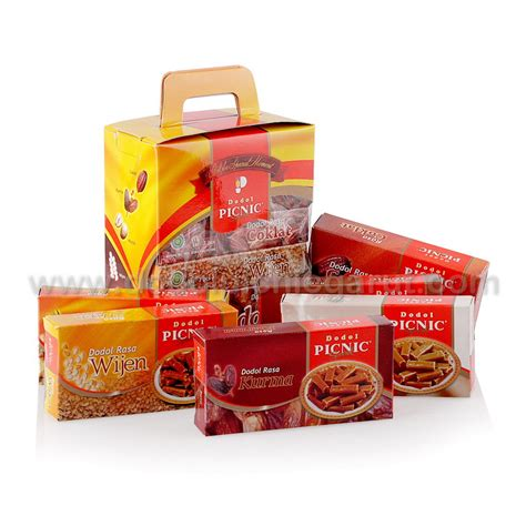 Nabati Ahh Netto 20 X 5 5 Gr dodol picnic special gift mini by shoppinggarut