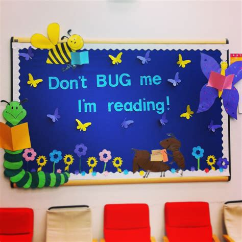 themes about reading spring bulletin board fun for the students to