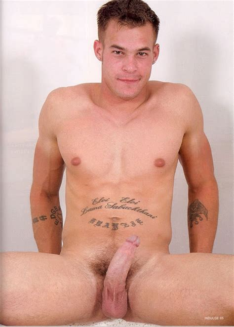 Gay Mans Pleasure Jonathan Jesensky Shows Cock
