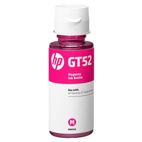 Hp Gt52 Magenta Original hp gt52 magenta ink bottle
