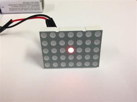led dot matrix display nightfire electronics llc