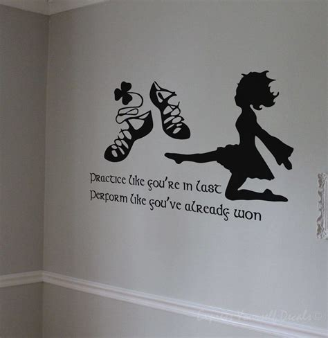 Family Wall Stickers Quotes irish dance wall art decal wall decals wall stickers