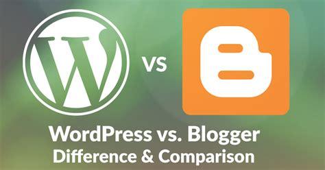 blogger vs wordpress 2017 blackwhite lite themecountry