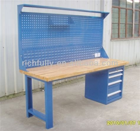 used work bench 2015 widely used industrial workbench with drawer buy